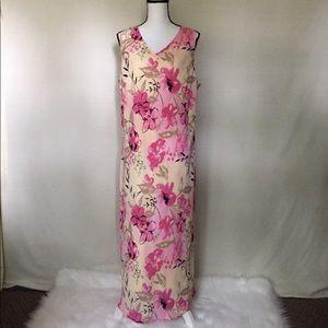 Fashion Bug 20W Sleeveless Dress